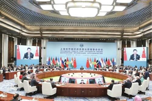 【讲话致辞】习近平同上海合作组织成员国领导人共同会见记者时的讲话