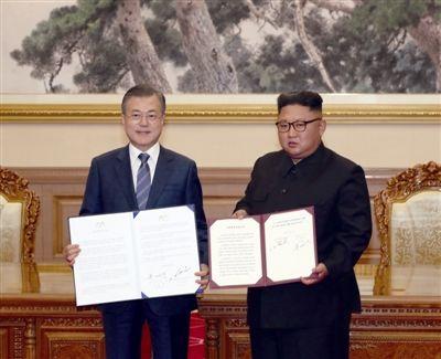 【声明宣言】文在寅与金正恩共同签署 的《平壤共同宣言》 Pyongyang Joint Declaration英中对照